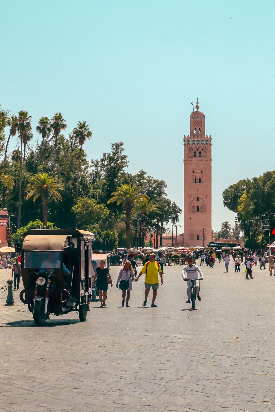 Intalnirea omului Marrakech. cunoștință fără înregistrare cu un bărbat